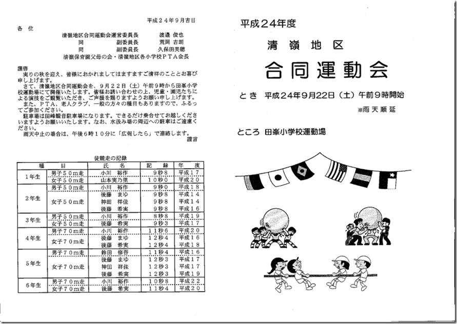 プログラム 表