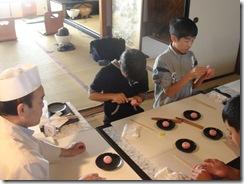 京菓子作り