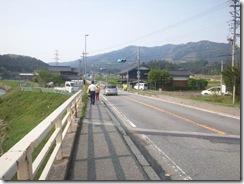 船戸橋「要ガードレール」