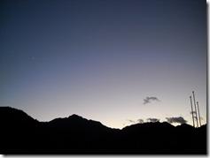1126明神山と一番星