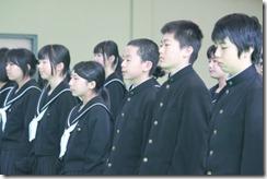 卒業式 別れのつどい049