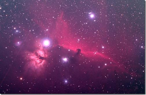 オリオン座_馬頭星雲