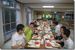 寮での食事001