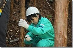 林業体験学習188