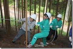 林業体験学習198