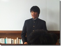 朝礼(スピーチ、表彰)003