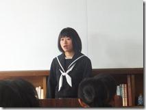 朝礼(スピーチ、表彰)012