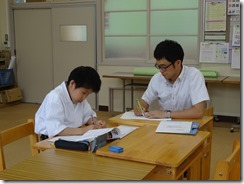 学校訪問 ひまわり国語015