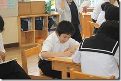 学校訪問 1年国語005