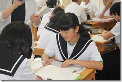 学校訪問 1年国語006