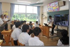 学校訪問 2年道徳001