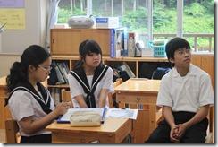 学校訪問 2年道徳005