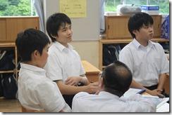 学校訪問 2年道徳006
