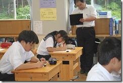 学校訪問 2年道徳013