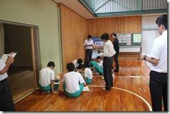 学校訪問 3年体育001