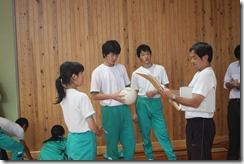 学校訪問 3年体育006