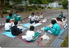 お弁当給食・合同遊び025